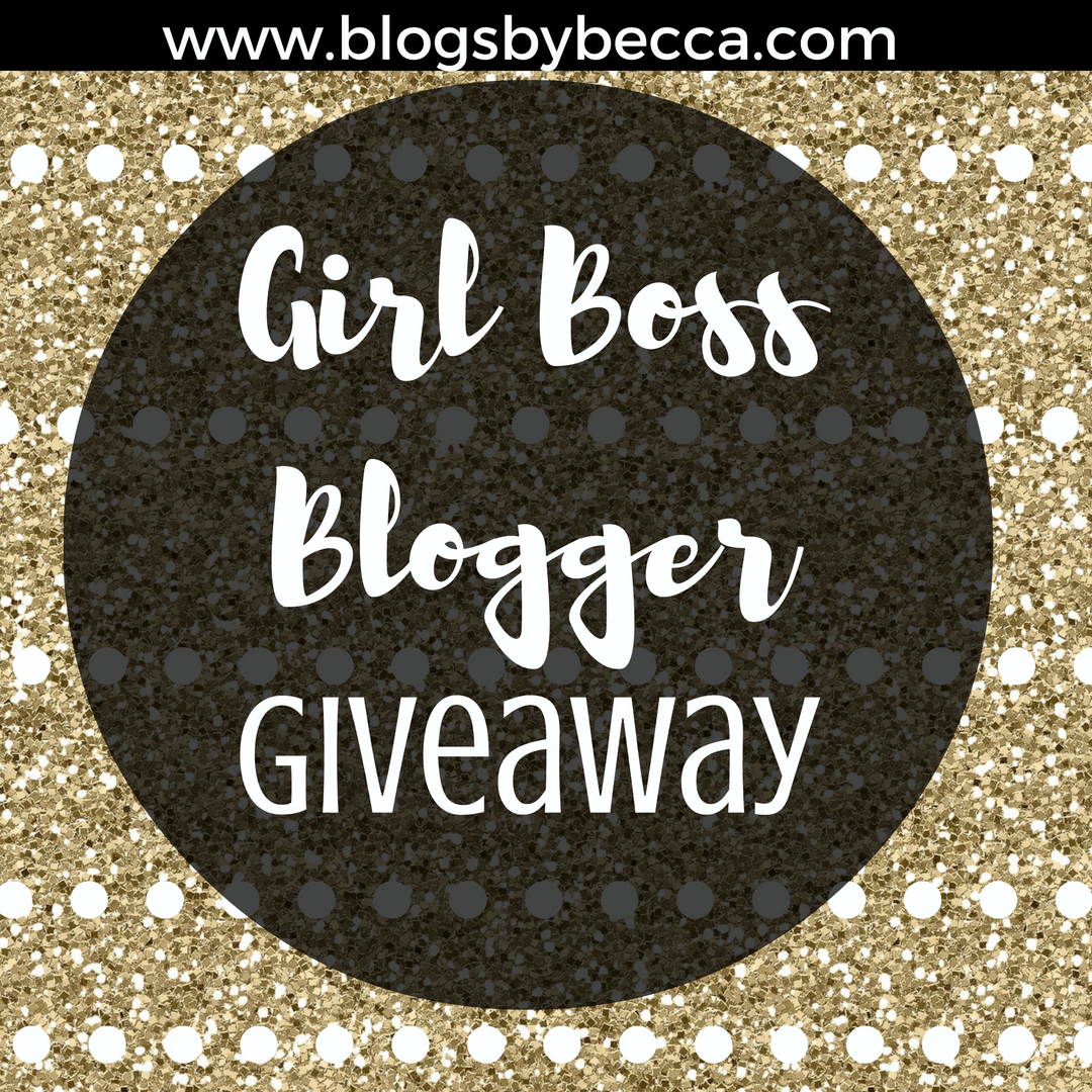 Girl Boss Blogger Giveaway