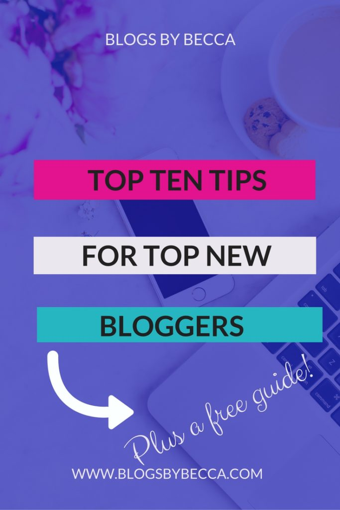 Top Ten Tips for Top New Bloggers. Amazing tips and tricks for beginner or advanced. Plugins, themes, optins, emails, monetization, promotion, you name it, it's here.