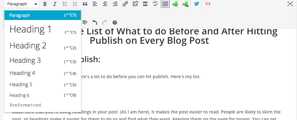 What to do before and after every blog post