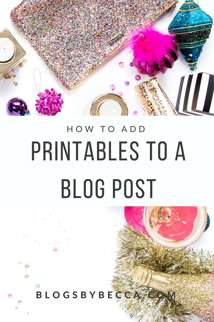 How to Add Printables to a Blog Post. This guide is so essential! Use Leadpages and ConvertKit to add printables right into your blog post and gain email subscribers! Click through to check it out!