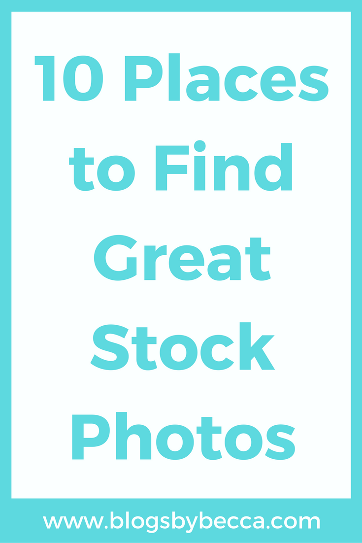 10 Places to Find Great Stock Photos For Your Blog or Social Media. LOVE these sites!! Girly and feminine styled stock photos for anything! Great tips and tricks!